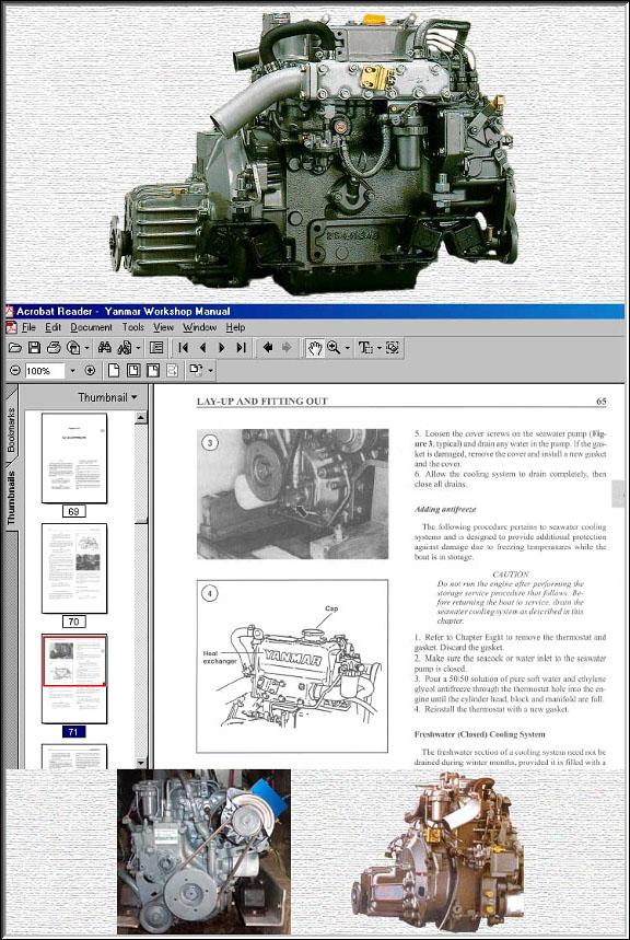 Yanmar Diesel Workshop Manuals On Cd